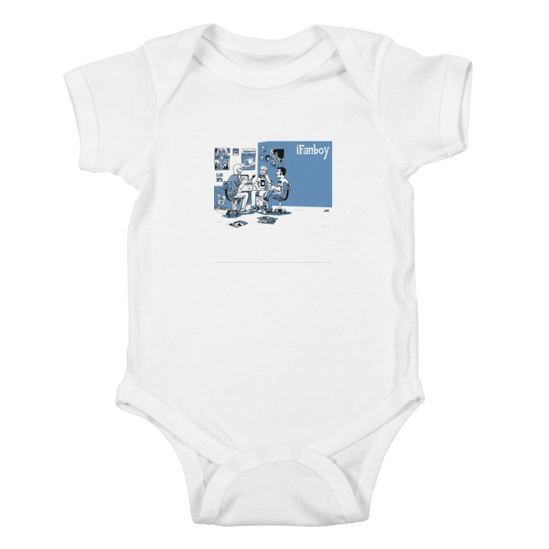 Pick of the Week Podcast Kids Baby Bodysuit by iFanboy
