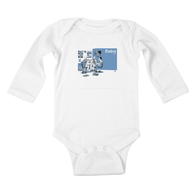 Pick of the Week Podcast Kids Baby Longsleeve Bodysuit by iFanboy