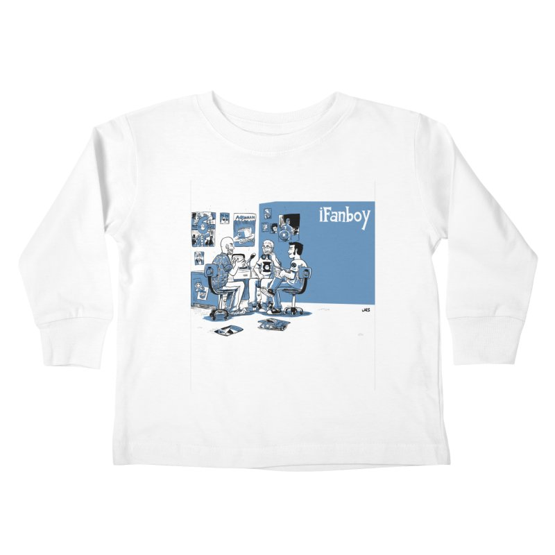 Pick of the Week Podcast Kids Toddler Longsleeve T-Shirt by iFanboy