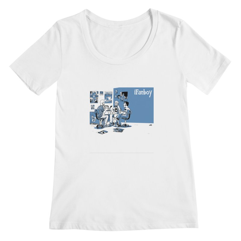 Pick of the Week Podcast Women's Scoopneck by iFanboy