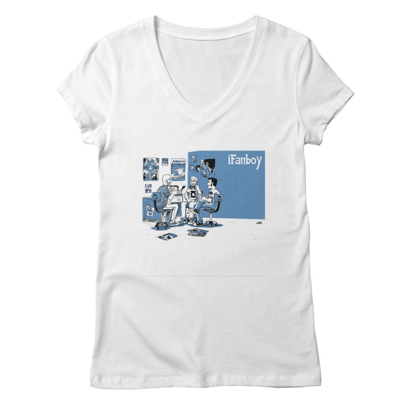 Pick of the Week Podcast Women's V-Neck by iFanboy