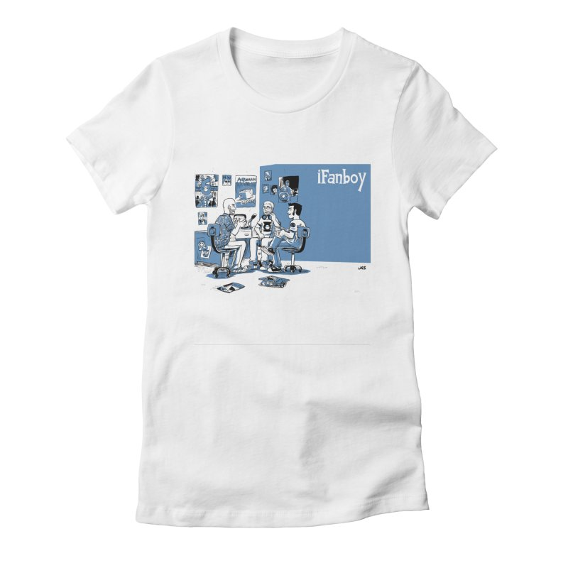 Pick of the Week Podcast Women's Fitted T-Shirt by iFanboy