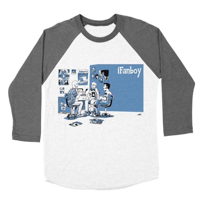 Pick of the Week Podcast Men's Baseball Triblend Longsleeve T-Shirt by iFanboy