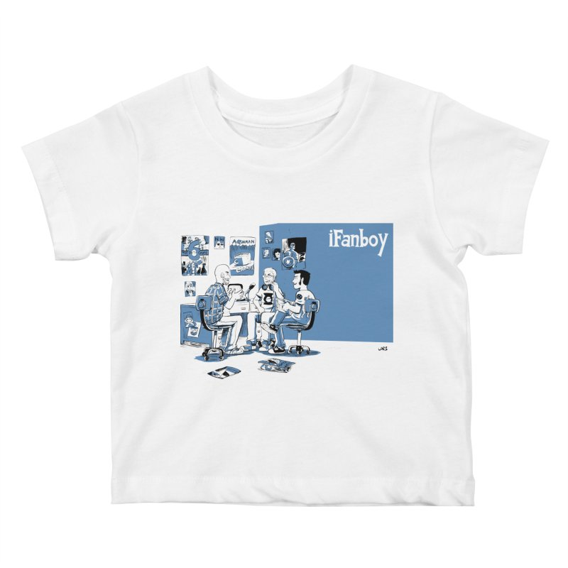 Pick of the Week Podcast Kids Baby T-Shirt by iFanboy