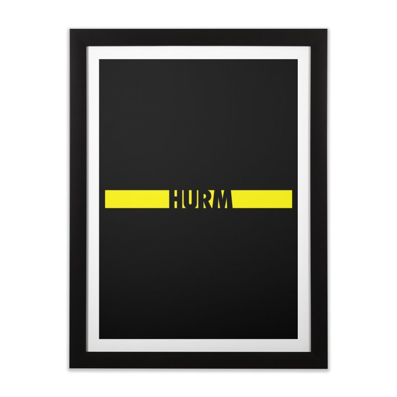 HURM Home Framed Fine Art Print by iFanboy