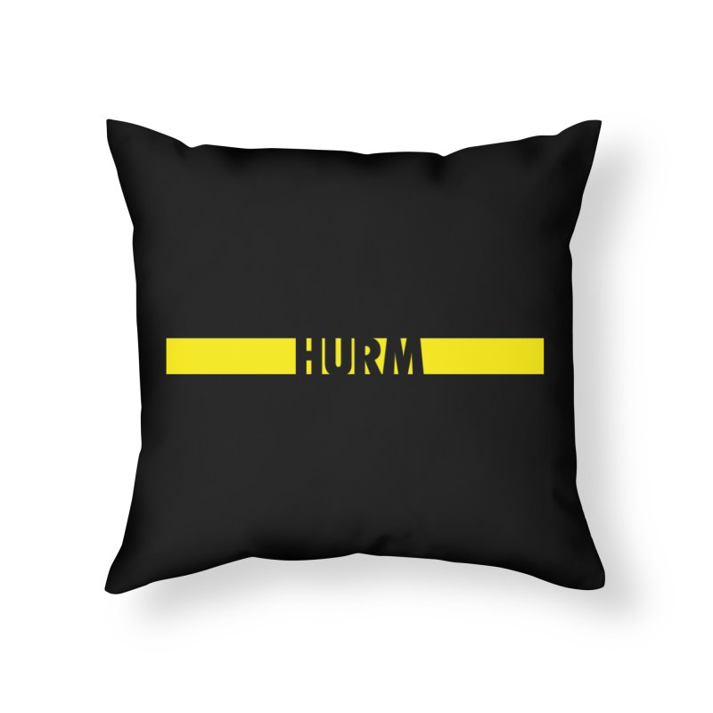 HURM Home Throw Pillow by iFanboy