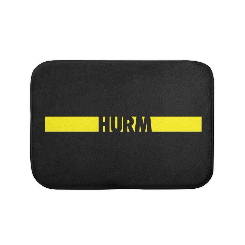 HURM Home Bath Mat by iFanboy