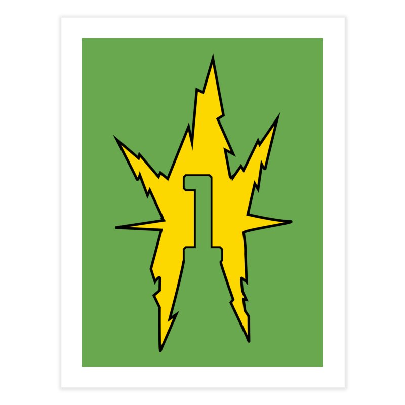 If One Is Electro... Home Fine Art Print by iFanboy