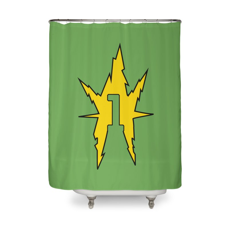 If One Is Electro... Home Shower Curtain by iFanboy