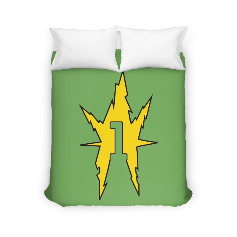 If One Is Electro... Home Duvet by iFanboy