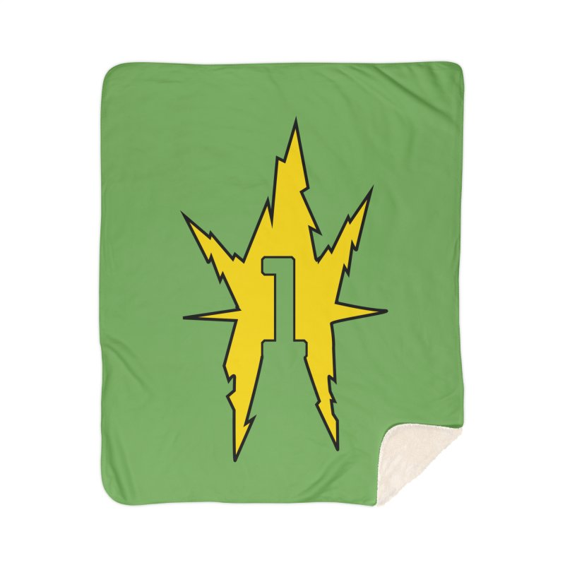 If One Is Electro... Home Sherpa Blanket Blanket by iFanboy