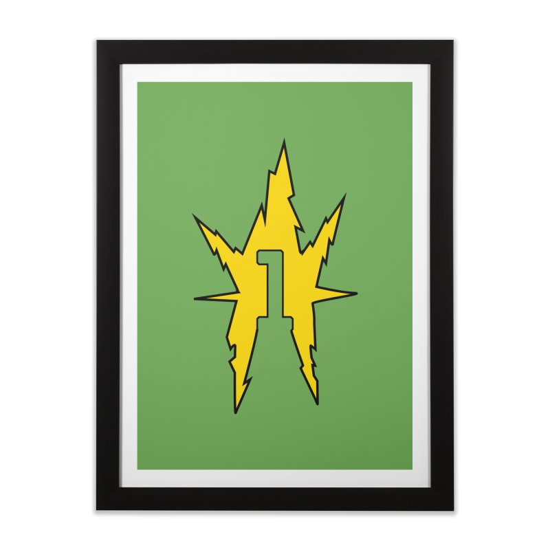 If One Is Electro... Home Framed Fine Art Print by iFanboy