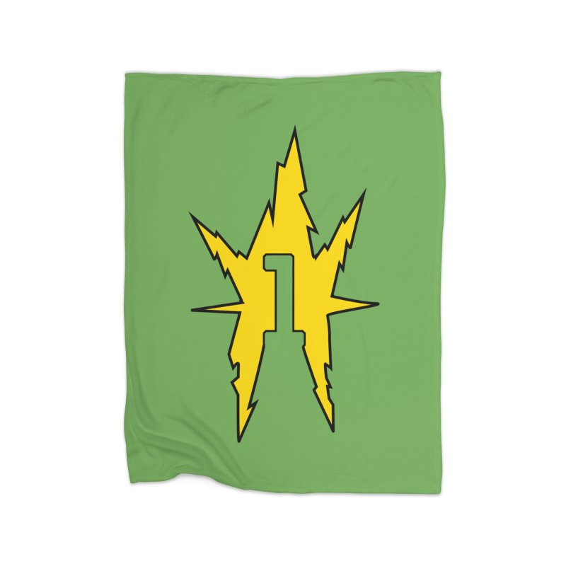 If One Is Electro... Home Fleece Blanket Blanket by iFanboy
