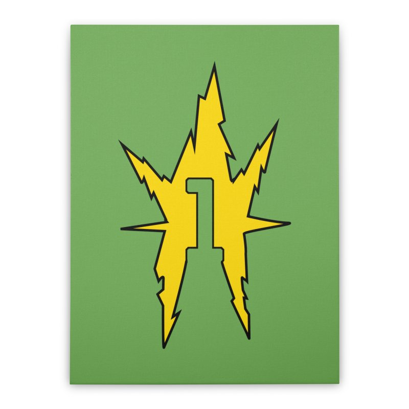 If One Is Electro... Home Stretched Canvas by iFanboy