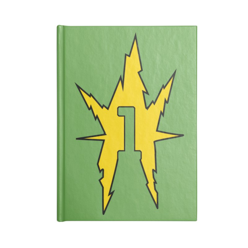 If One Is Electro... Accessories Lined Journal Notebook by iFanboy