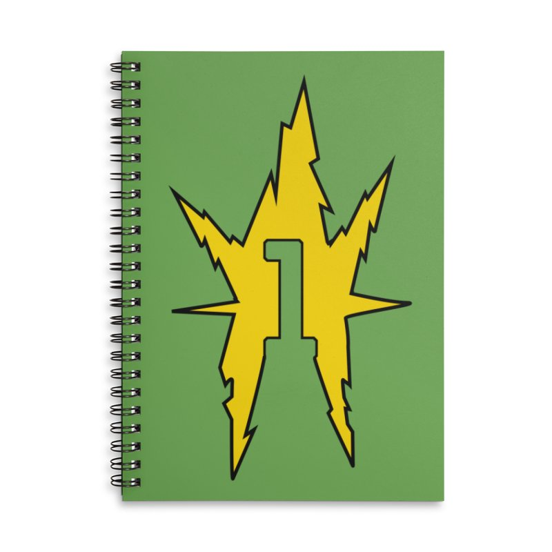 If One Is Electro... Accessories Notebook by iFanboy