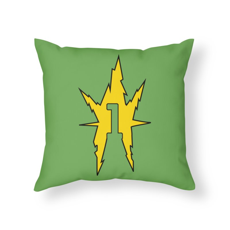 If One Is Electro... Home Throw Pillow by iFanboy