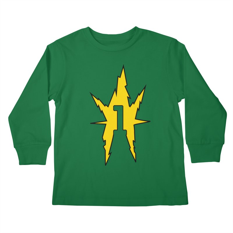 If One Is Electro... Kids Longsleeve T-Shirt by iFanboy