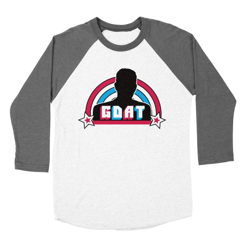 GDAT Men's Baseball Triblend Longsleeve T-Shirt by iFanboy