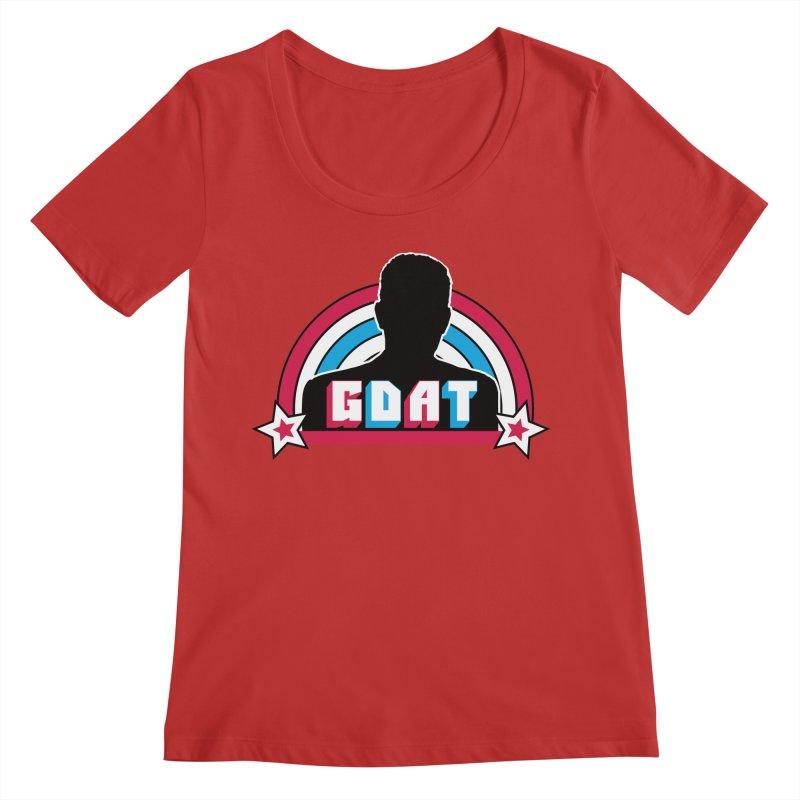 GDAT Women's Regular Scoop Neck by iFanboy