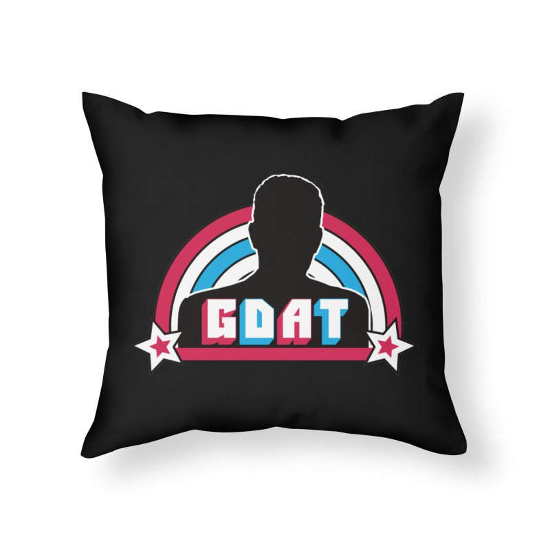 GDAT Home Throw Pillow by iFanboy