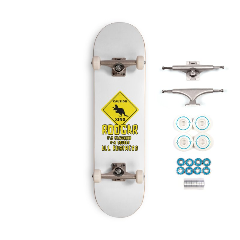Roogar Accessories Skateboard by iffopotamus