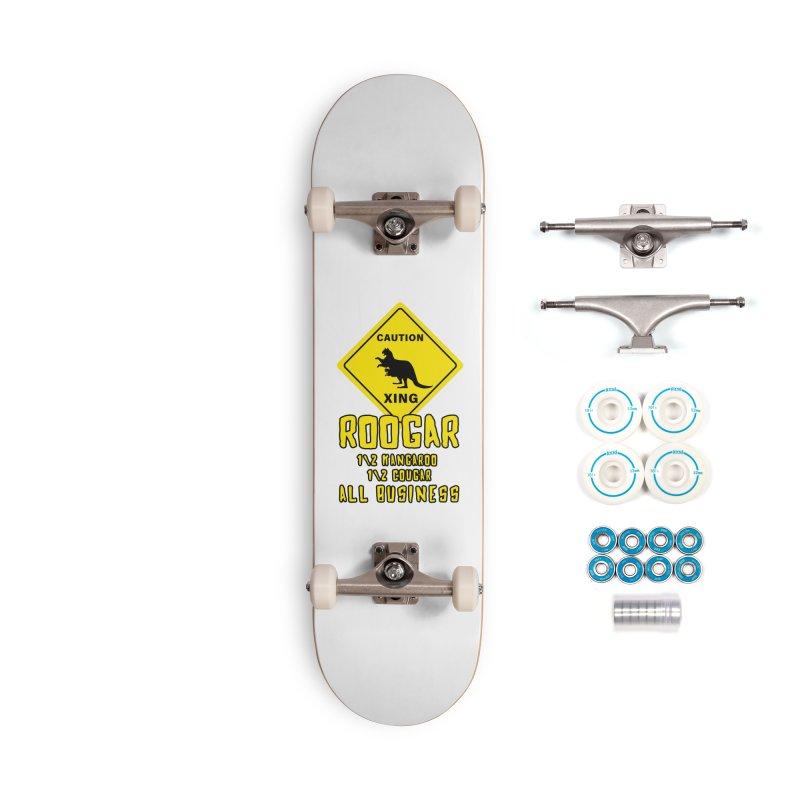 Roogar Accessories Complete - Basic Skateboard by iffopotamus