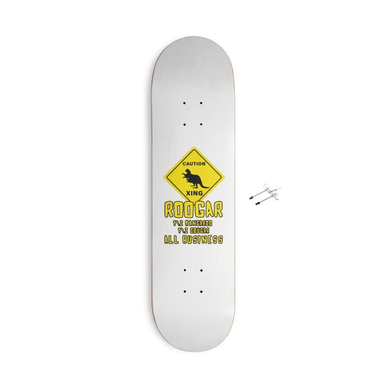 Roogar Accessories With Hanging Hardware Skateboard by iffopotamus