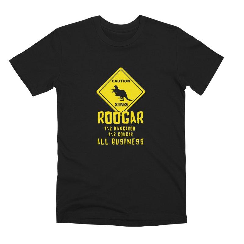 Roogar Men's Premium T-Shirt by iffopotamus