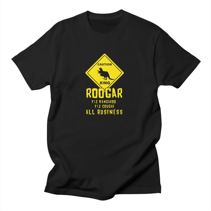 Roogar Men's T-Shirt by iffopotamus