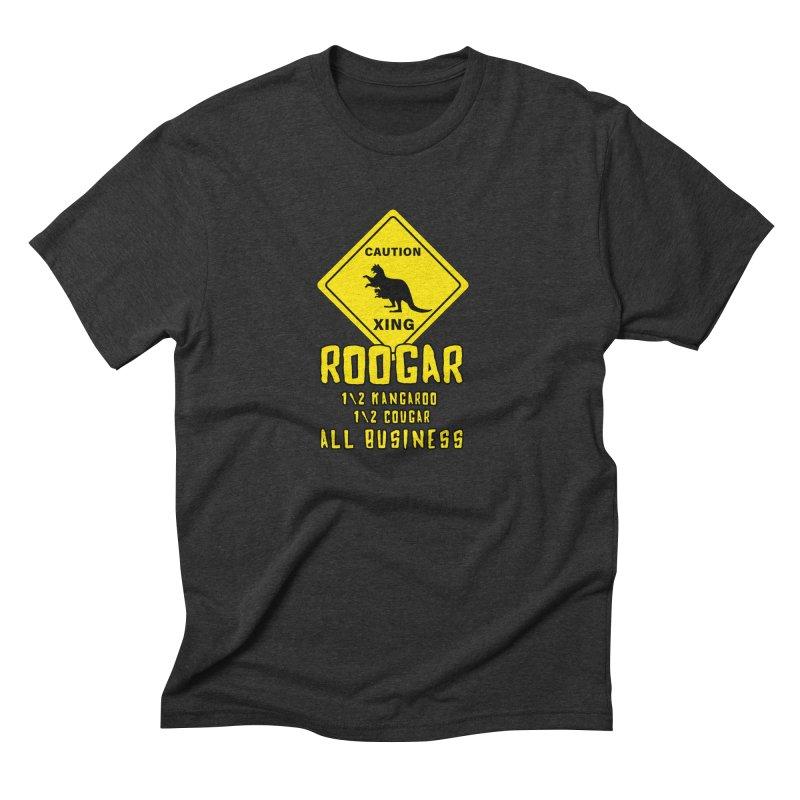 Roogar Men's Triblend T-Shirt by iffopotamus