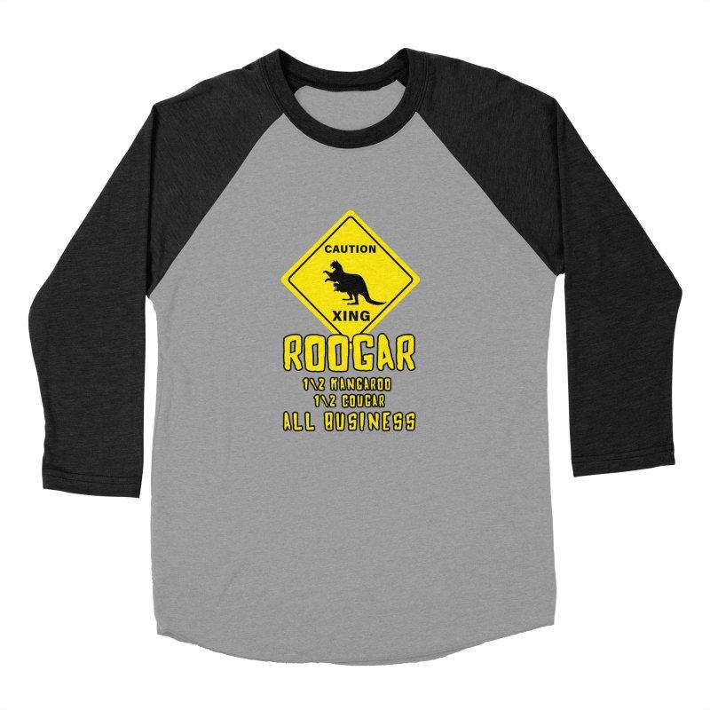 Roogar Men's Baseball Triblend Longsleeve T-Shirt by iffopotamus