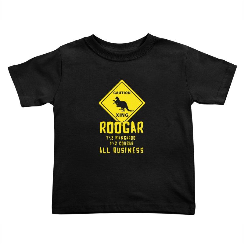 Roogar Kids Toddler T-Shirt by iffopotamus