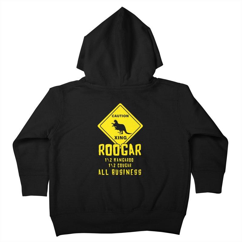 Roogar Kids Toddler Zip-Up Hoody by iffopotamus