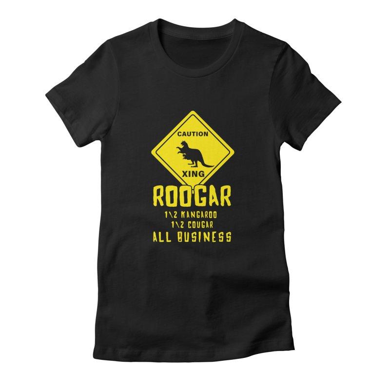 Roogar Women's Fitted T-Shirt by iffopotamus