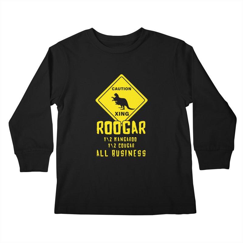 Roogar Kids Longsleeve T-Shirt by iffopotamus