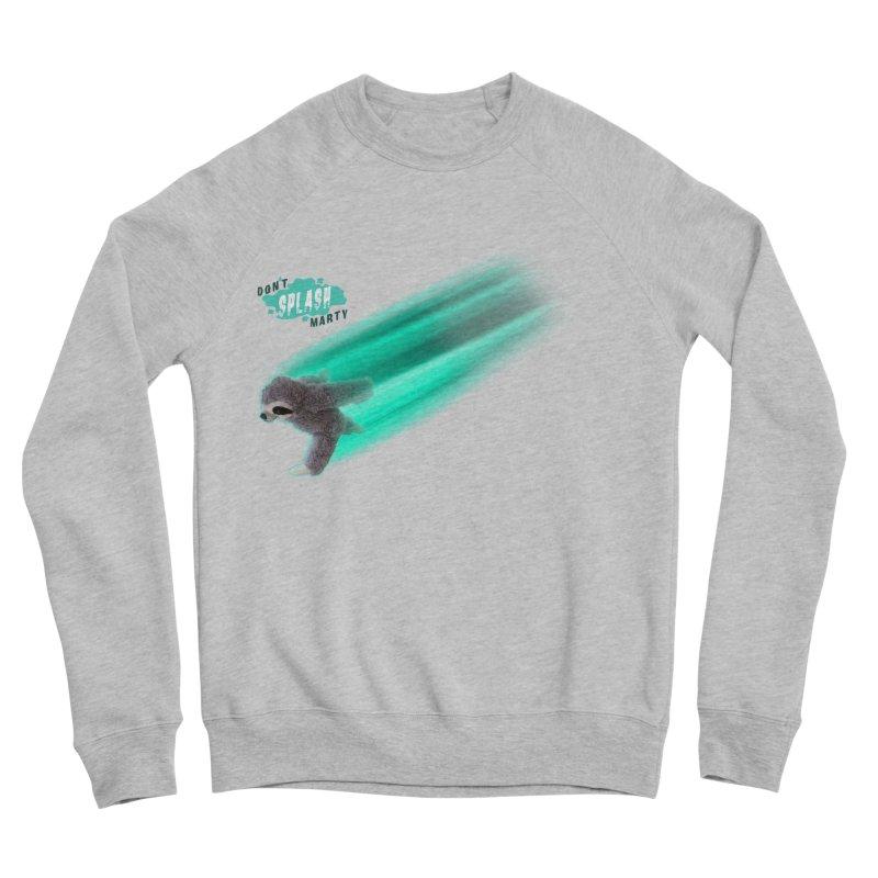 Don't Splash Marty - Running Women's Sweatshirt by iffopotamus