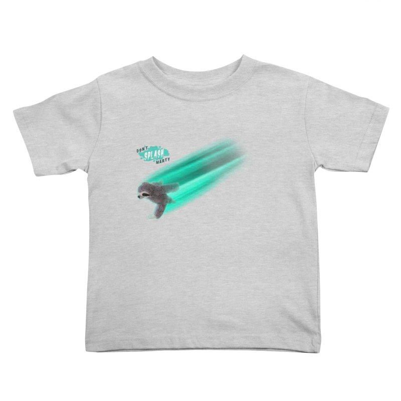 Don't Splash Marty - Running Kids Toddler T-Shirt by iffopotamus