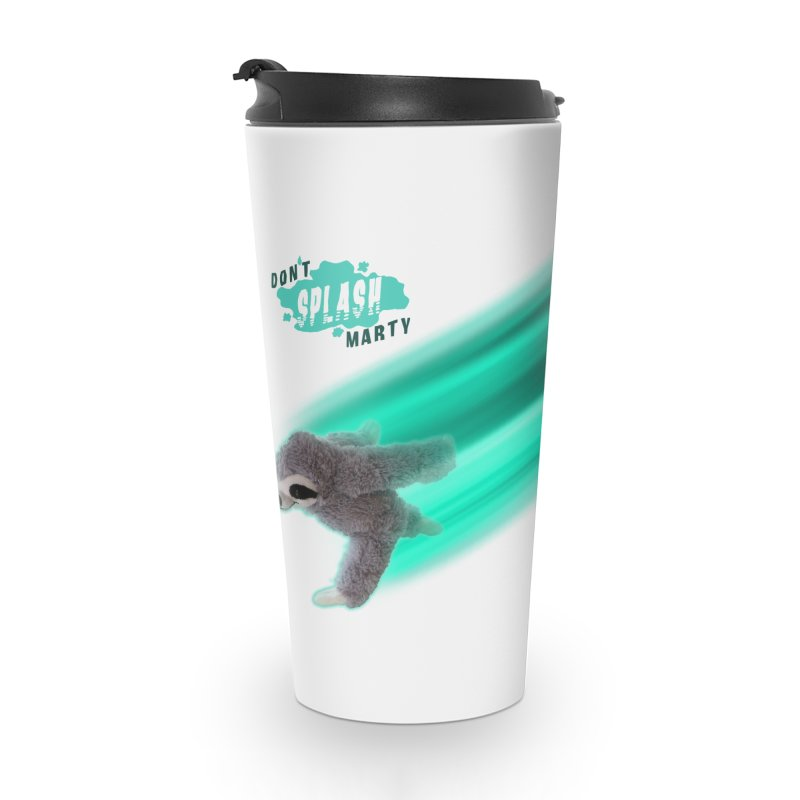 Don't Splash Marty - Running Accessories Mug by iffopotamus
