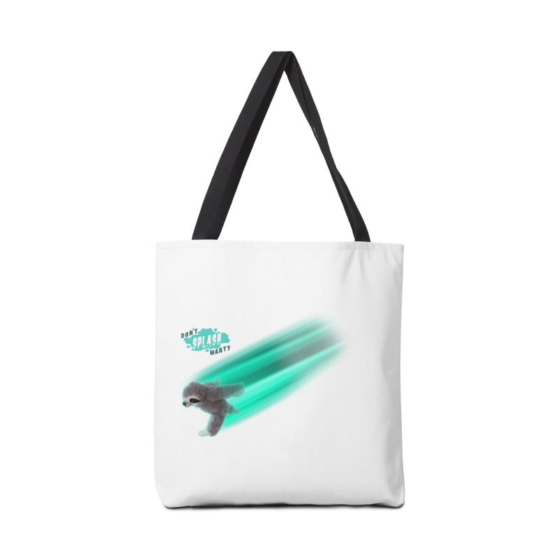 Don't Splash Marty - Running Accessories Tote Bag Bag by iffopotamus