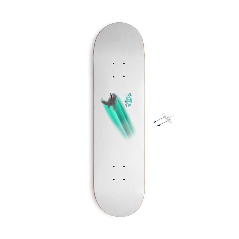 Don't Splash Marty - Running Accessories With Hanging Hardware Skateboard by iffopotamus