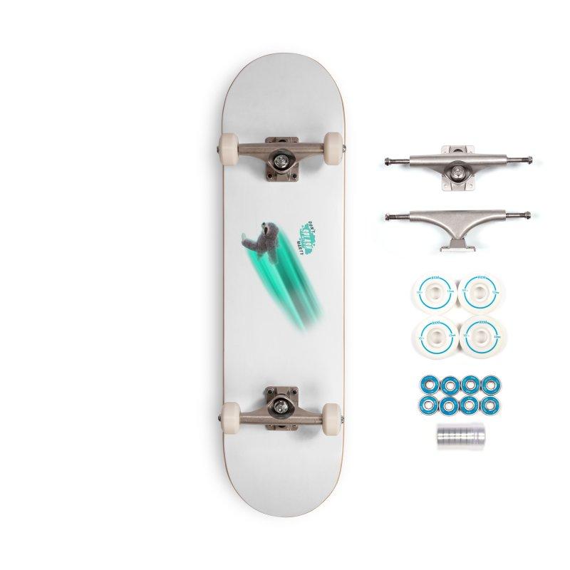 Don't Splash Marty - Running Accessories Complete - Basic Skateboard by iffopotamus