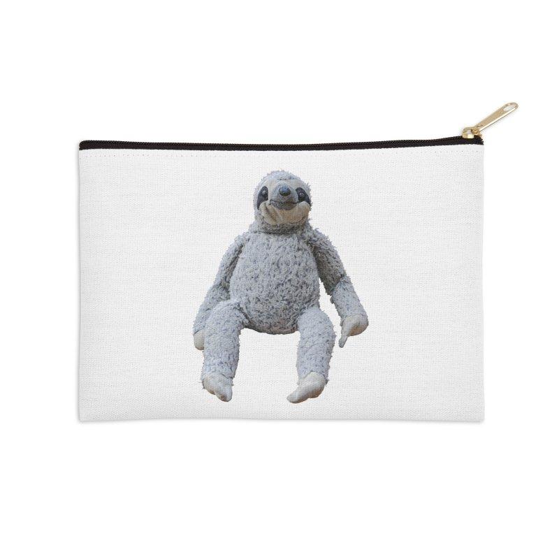 Slothy Accessories Zip Pouch by iffopotamus