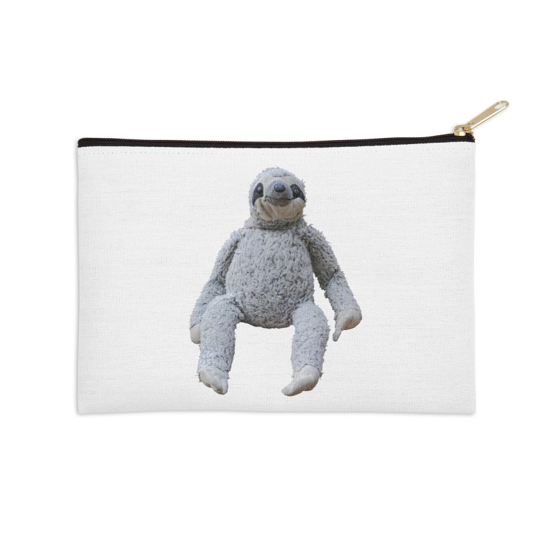 Slothy Accessories Zip Pouch by iffopotamus