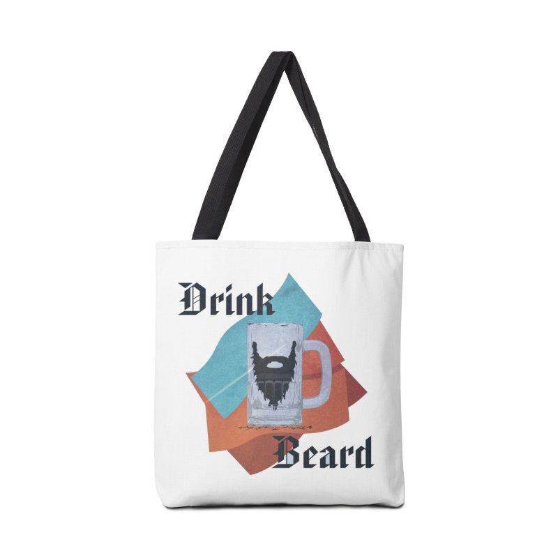 Drink Beard Accessories Tote Bag Bag by iffopotamus