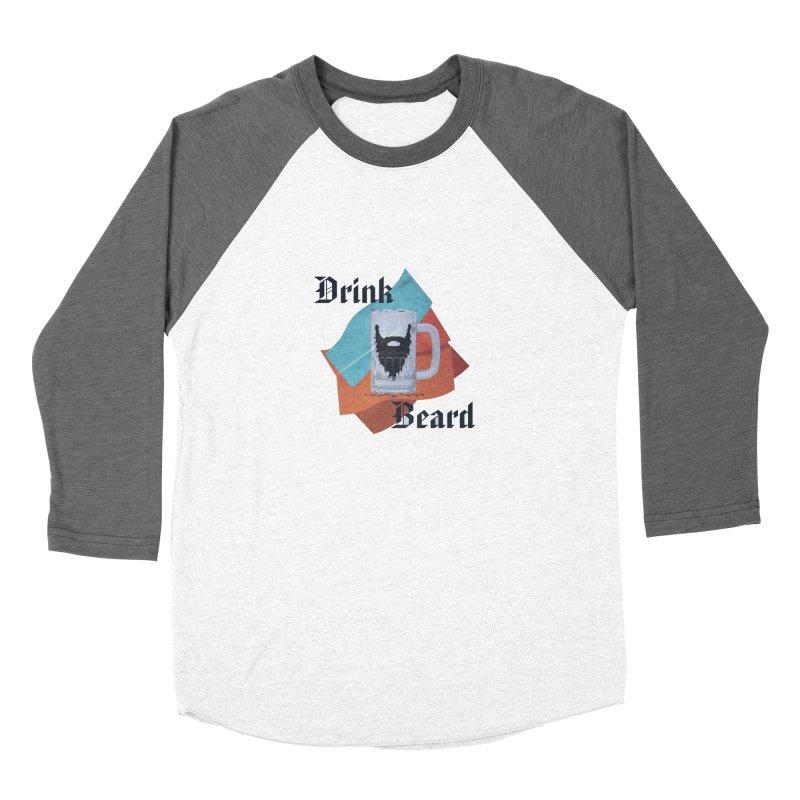 Drink Beard Women's Baseball Triblend Longsleeve T-Shirt by iffopotamus