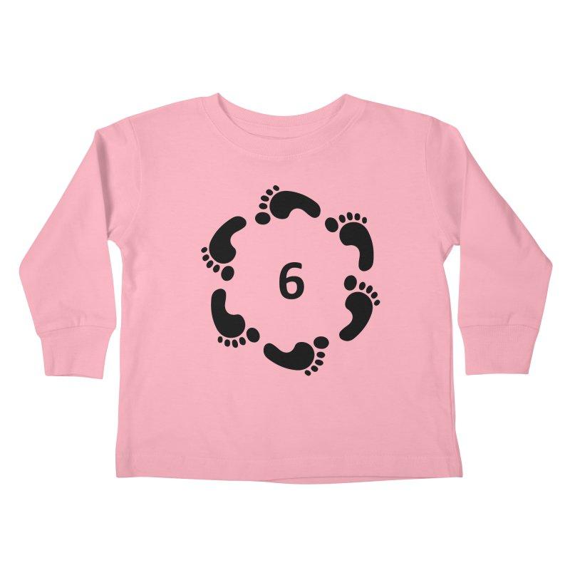 6 Feet Kids Toddler Longsleeve T-Shirt by iffopotamus