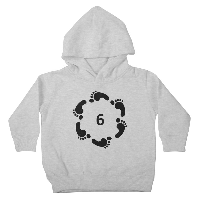 6 Feet Kids Toddler Pullover Hoody by iffopotamus