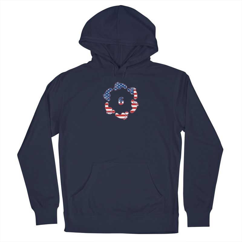 6 Feet USA Men's Pullover Hoody by iffopotamus