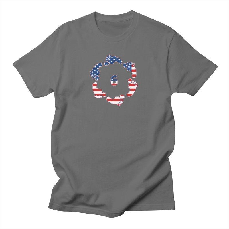 6 Feet USA Men's T-Shirt by iffopotamus